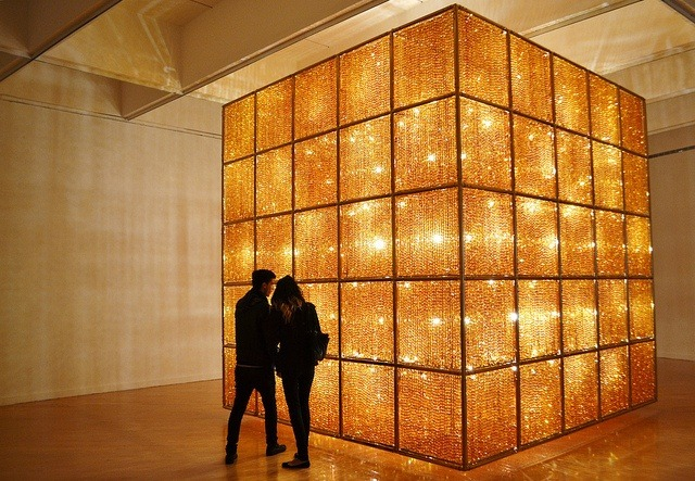 ai weiwei 39 s cube light can even make the hirshhorn museum look small the creators project. Black Bedroom Furniture Sets. Home Design Ideas