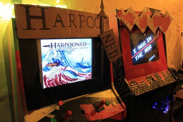 Harpooned Arcade Cabinet