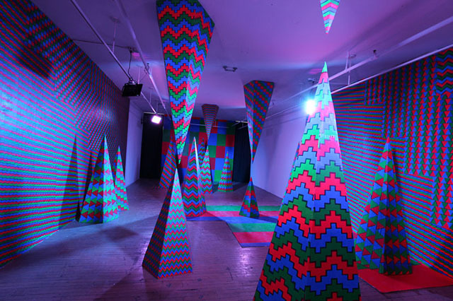 gallery for trippy lights for room