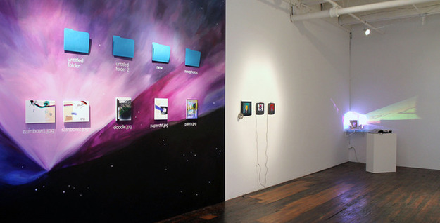 Transfer gallery brings digital art into the physical world—and sells it too.